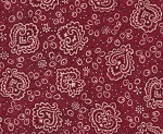 Cranberry Bandanna- Fat Quarter Cut